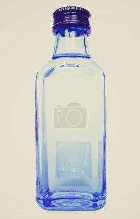 Retro look Alcohol bottle