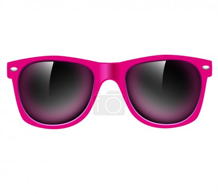Sunglasses isolated. vector illustration background