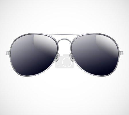 Illustration for Aviator sunglasses vector illustration background Aviator sunglasses vector illustration background - Royalty Free Image
