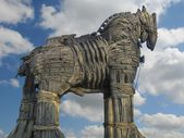 Troy Horse in Canakkale Square,Turkey.
