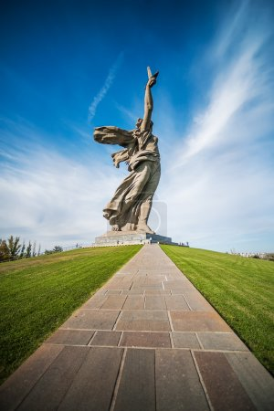 "way to memorial ""Motherland Calls"""