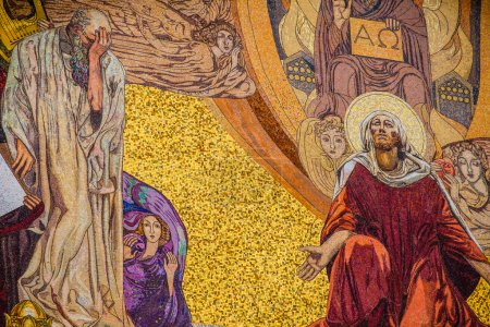 Photo pour Église De Toutes Les Nations Sur Le Mont Des Oliviers, Jérusalem - image libre de droit