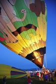 Hot air balon fiesta v albuquerque