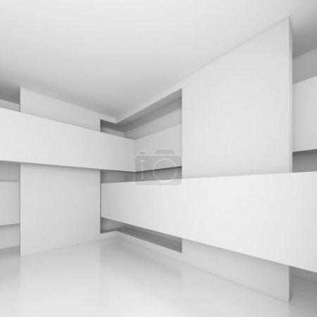 Photo pour Illustration 3D de la conception de l'architecture abstraite - image libre de droit