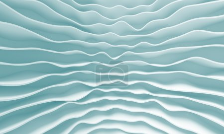 Photo for 3d Blue Abstract Minimal Design - Royalty Free Image