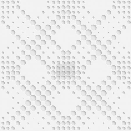 Illustration for Vector Abstract Seamless Geometric Pattern - Royalty Free Image