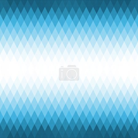 Vector Abstract Blue Geometric Pattern...