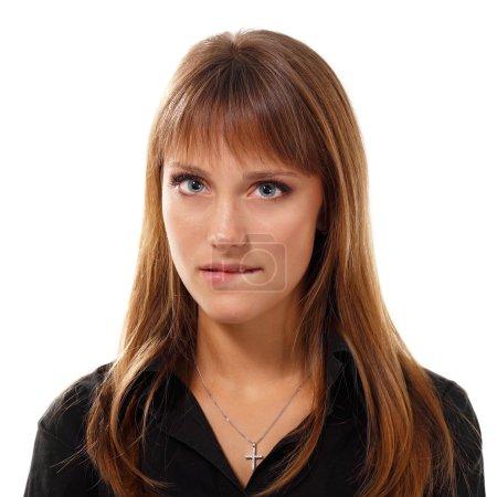 teen girl face