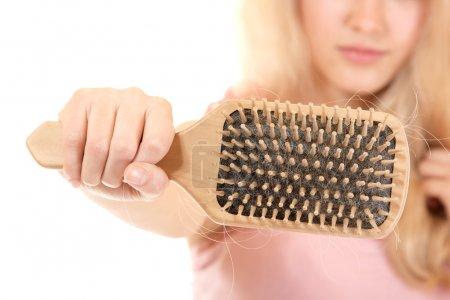 Women with hair broblem