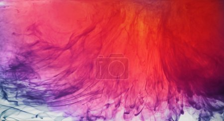 Photo for Abstract background. Ink in water - Royalty Free Image