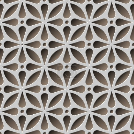 Abstract seamless pattern vector illustration...