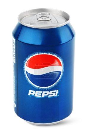 Aluminum can of Pepsi Cola