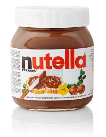 Nutella hazelnut chocolate sprea