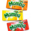 Colorful Mamba Fruit Chews made by August Storck K...