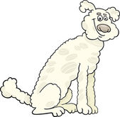 Pudl psa kreslený obrázek