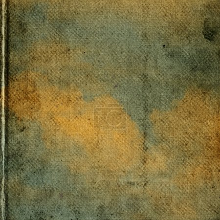 Photo pour Toile carrée avec peintures à l'huile - image libre de droit