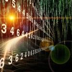 Digital Streams series. Composition of numbers, li...