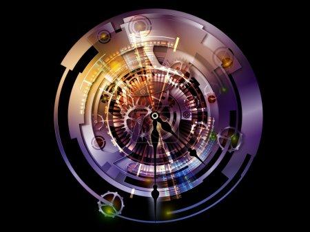 Visualization of Digital Clockwork