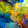 Colors In Bloom series. Abstract arrangement of fr...