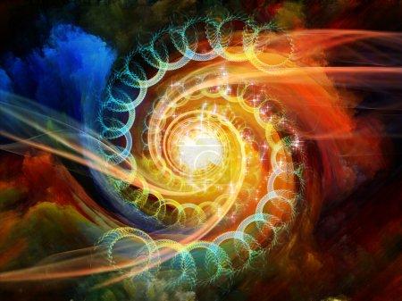 Inside Motion Vortex