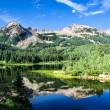 Lost Lake Slough and East Beckwith Mountain in Col...