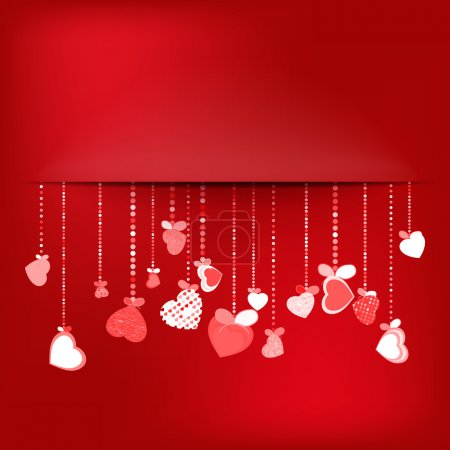 Valentines Day Background. EPS 10