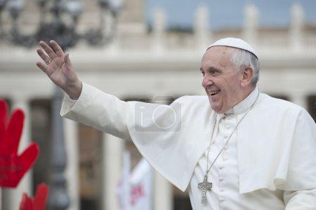 Papal audience...