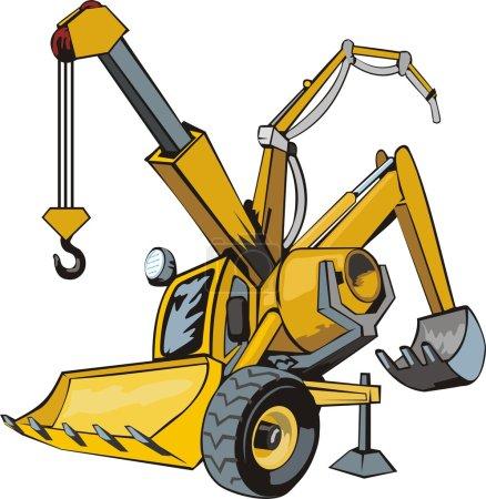 Multifunctional construction machine