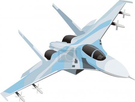 Military combat airplane...