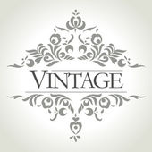 Vintage frame design - vector illustration