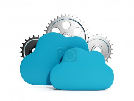 Working through the Internet. Cloud computing in business, busin