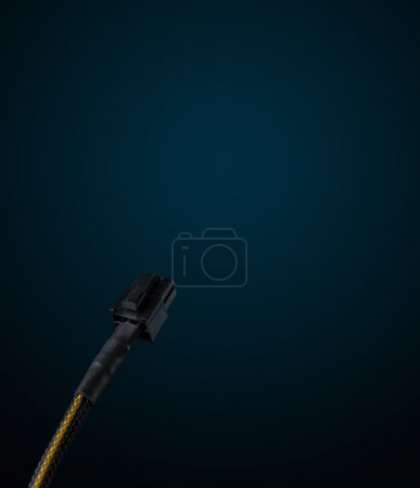 Electric cable with copy space