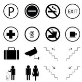 16 set of signs and symbols