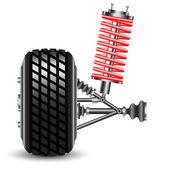 Front car suspension