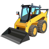 Device for lifting a car repair Vector illustration