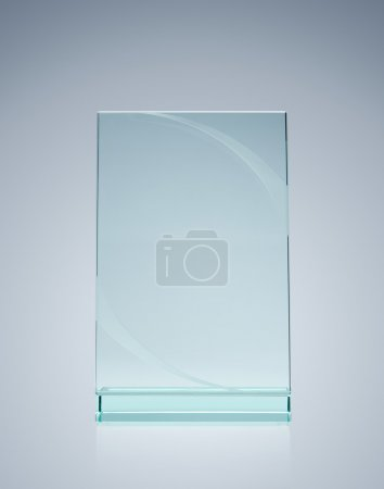 Blank glass award