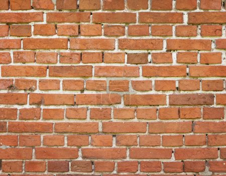 Photo for Empty red brick wall with copy space - Royalty Free Image