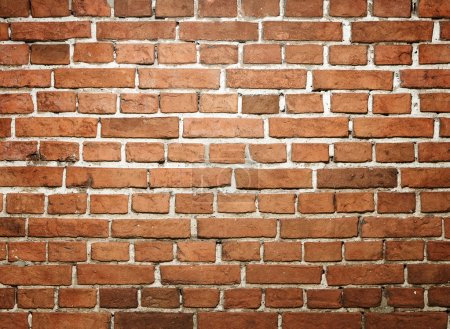 Photo for Grunge red brick wall with copy space - Royalty Free Image