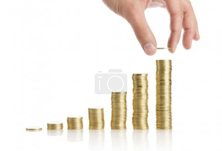 Savings or investment concept
