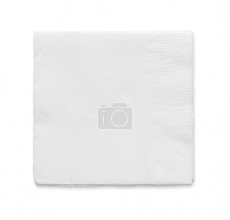 Blank papaer napkin