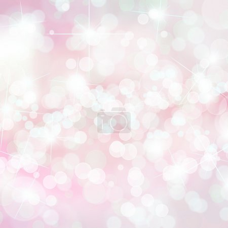 Photo for Pink defocused lights background with copy space - Royalty Free Image