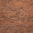Grunge red brick wall background with copy space...