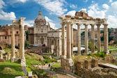 římské fórum v Římě
