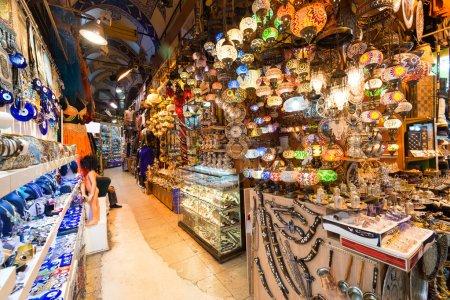 Inside the Grand Bazaar in