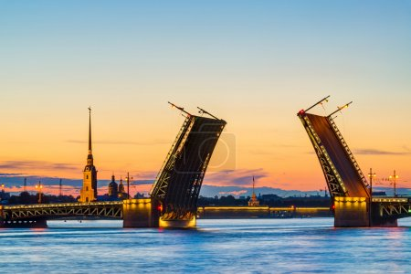 Postcard view of Palace Bridge