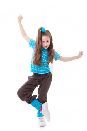 Photo for Dance child dancing and balance - Royalty Free Image