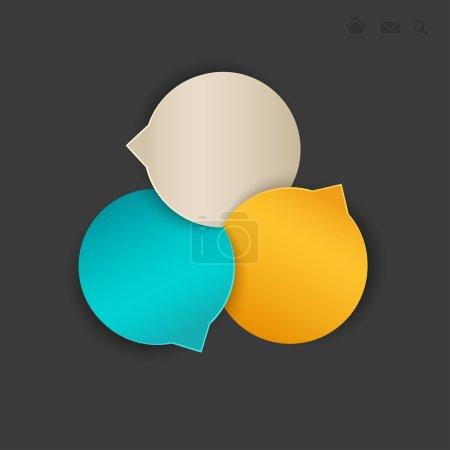 Illustration pour Modèle Web. illustration vectorielle. - image libre de droit
