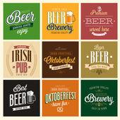 Vintage Beer set