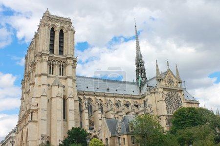 Photo pour Notre-Dame de paris. France - image libre de droit