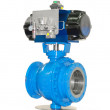Stop valves high pressure with automatic drive...